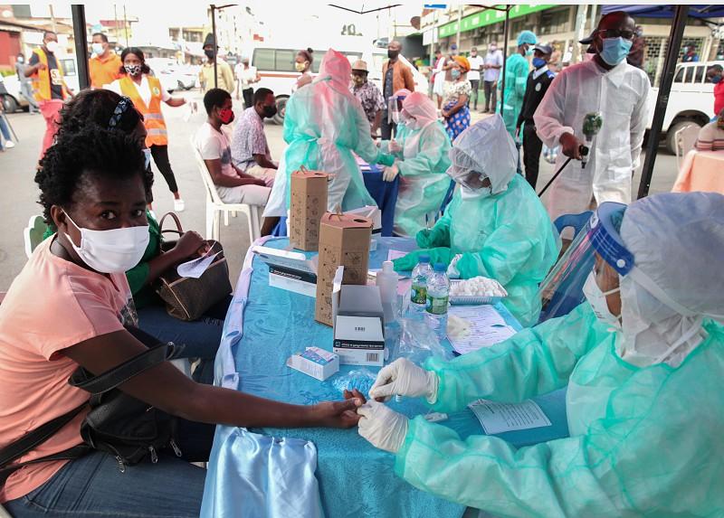 Angola regista 110 novos casos e recupera 478 doentes nas últimas 24 horas