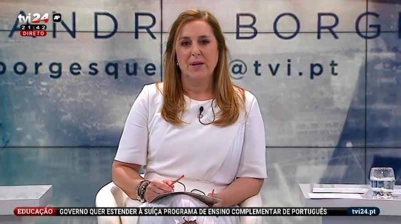 Resultado de imagem para Alexandra Borges: MP arquiva queixa contra jornalista da TVI por causa de reportagem sobre a IURD