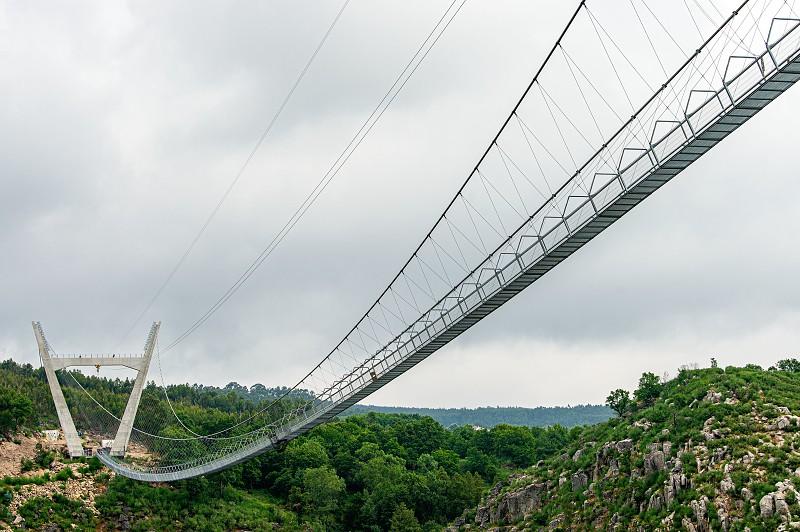 A maior ponte suspensa do mundo é a esperança de recuperação para ...