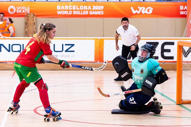 Portugal quer quebrar hegemonia da Espanha no hóquei em patins feminino