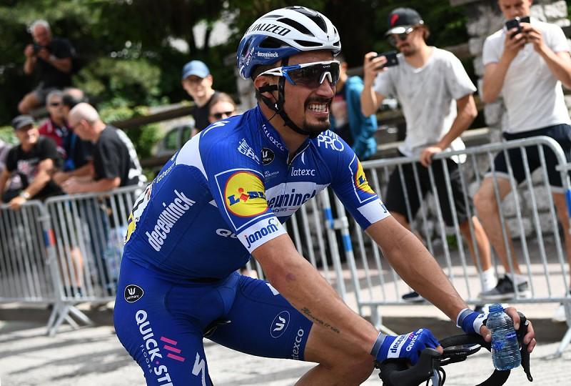 Ciclismo: Julian Alaphilippe vence terceira etapa do Tour e assume liderança da geral - Ciclismo - SAPO Desporto