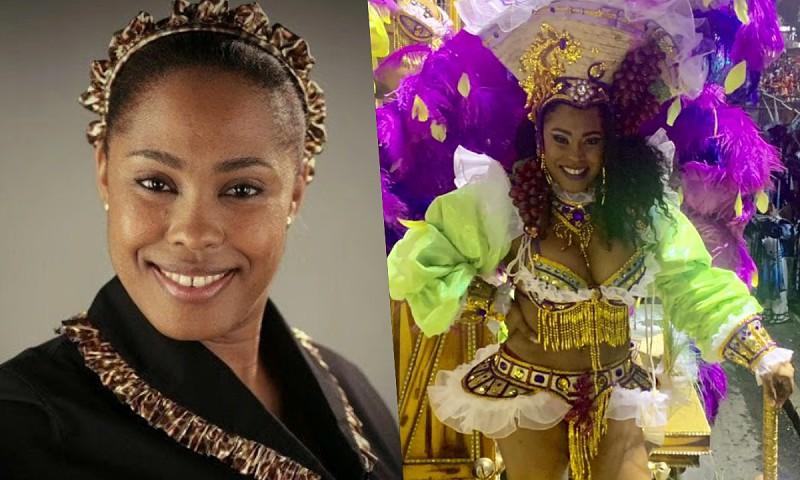 Depois de desfilar no Carnaval, Celma Pontes vai estrear peça teatral no Brasil