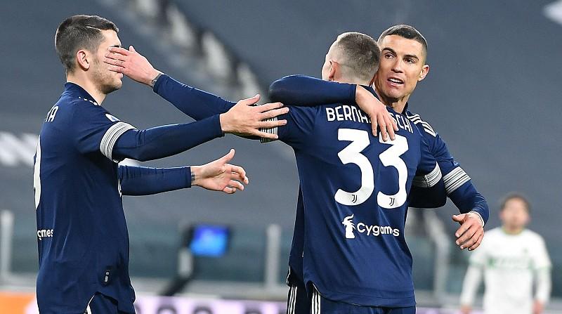 Ronaldo fecha vitória e Juventus aproxima-se dos lugares da frente em Itália
