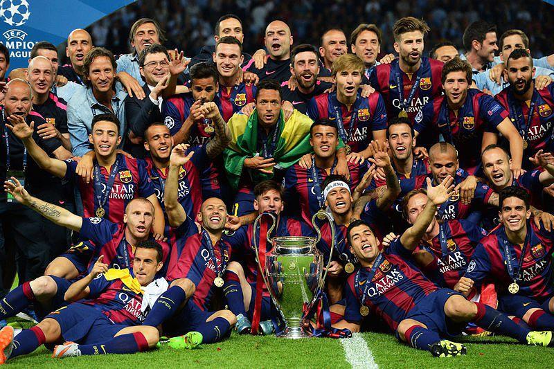 Barcelona Conquista A Sua Quinta Liga Dos Campeoes Liga Dos Campeoes Sapo Desporto