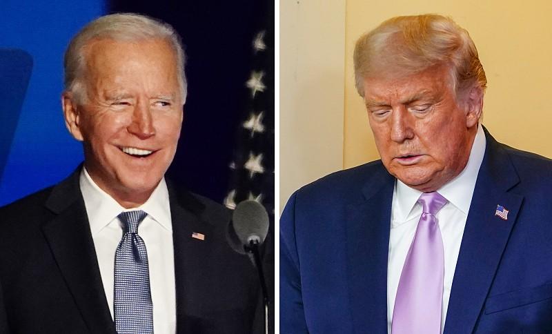 Biden congratula-se pela ausência de Trump da sua tomada de posse