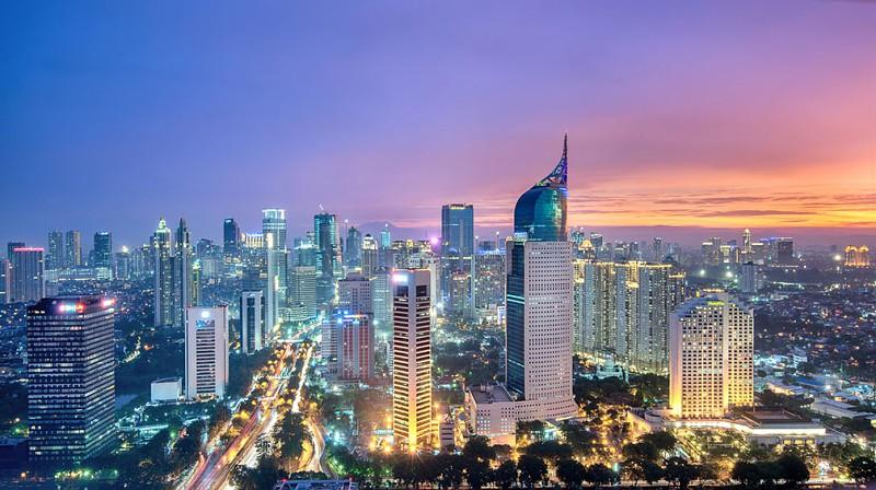 Resultado de imagem para Foto: Jacarta-capital da Indonésia