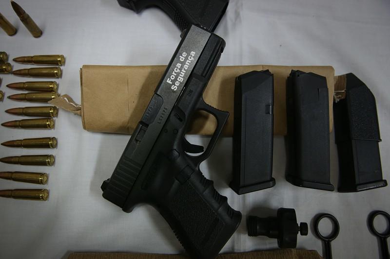 Guiné-Bissau era o destino de várias armas e munições furtadas da PSP
