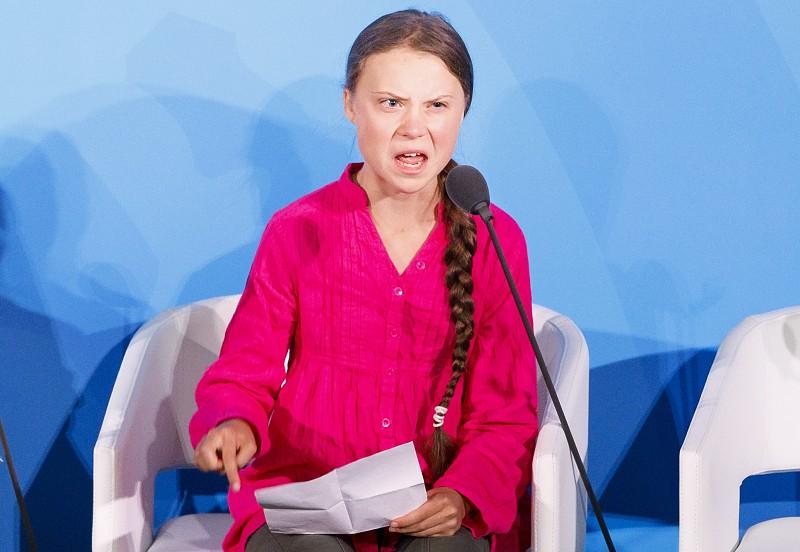 Resultado de imagem para Greta Thunberg acusa líderes mundiais de lhe roubarem os sonhos e a infância