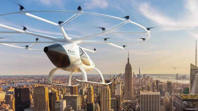 Resultado de imagem para A corrida para lançar o primeiro táxi elétrico voador