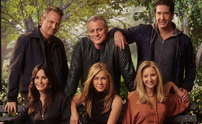 """Friends: The Reunion"""" estreia-se na próxima semana na HBO Portugal -  Atualidade - SAPO Mag"""