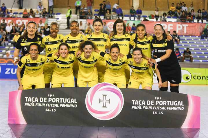98583c82a5 Quinta dos Lombos. A Quinta dos Lombos conquistou hoje a Taça de Portugal  de futsal feminino