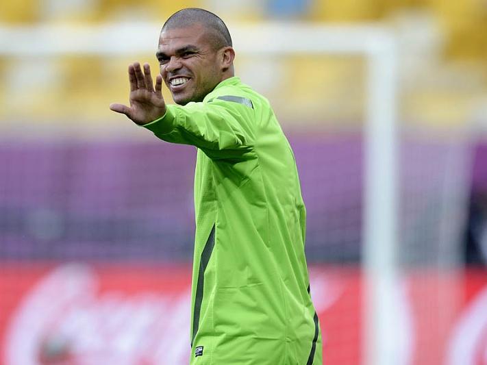 Pepe eleito o Homem do Jogo