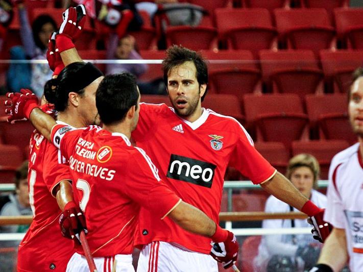 Benfica na 'final four' da Liga Europeia