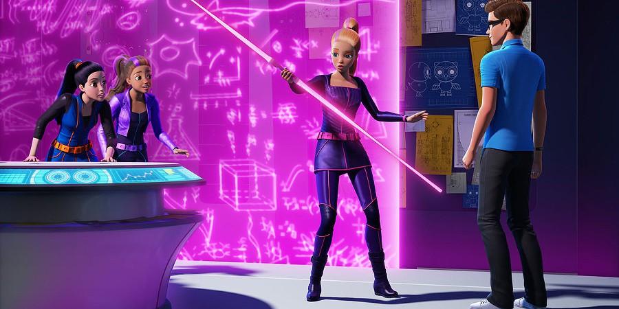 barbie chega ao cinema e procura mini agente secreta em. Black Bedroom Furniture Sets. Home Design Ideas