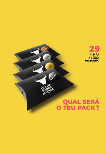 Voucher - Packs Dia Da Tauromaquia