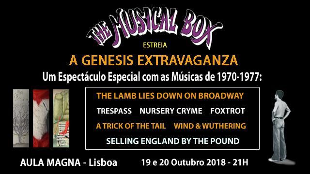 THE MUSICAL BOX A GENESIS EXTRAVAGANZA