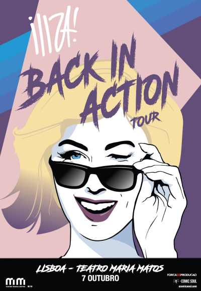 Iliza! <Br>Back In Action Tour