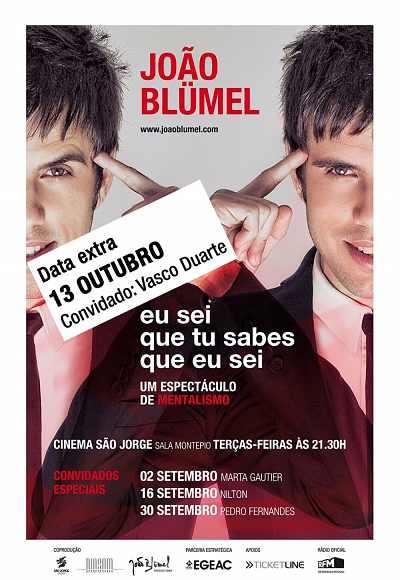 João Blümel - Eu Sei Que Tu Sabes Que Eu Sei
