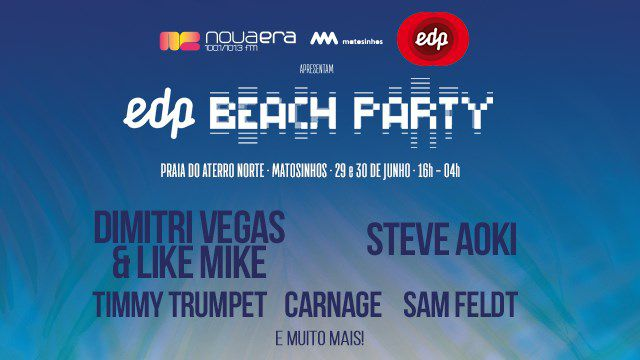 EDP NOVA ERA BEACH PARTY