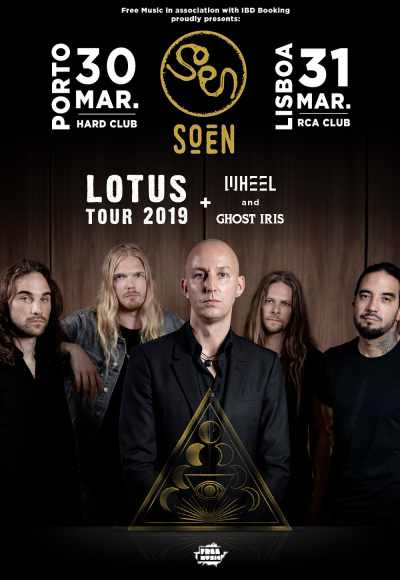 Soen With Ghost Iris + Wheel