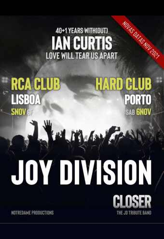 Joy Division - 40 Years With(Out) Ian Curtis