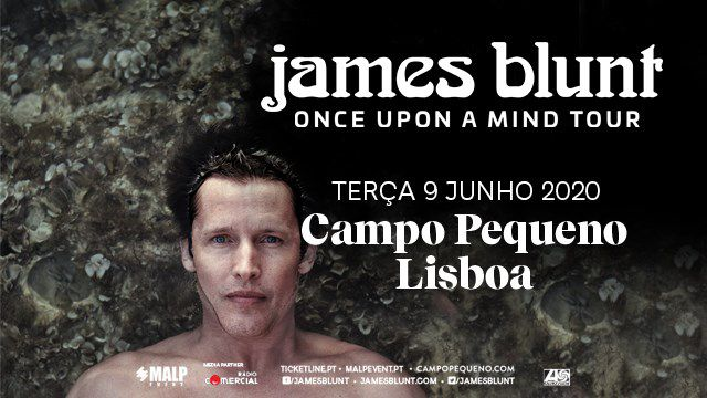 JAMES BLUNT | ONCE UPON A MIND TOUR