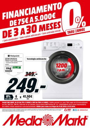 Financiamento de 75€ a 5000 € - Folheto Media Markt de 21 mar 2019 a 381066ca1e2