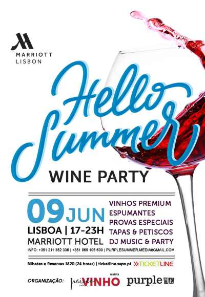 Hello Summer Wine Party