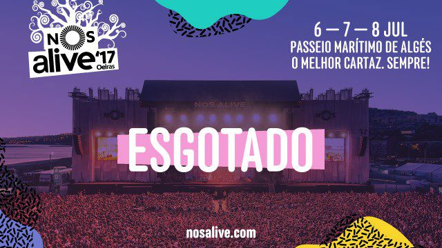 NOS ALIVE'17 - PACK COMBOIO INTERCIDADES