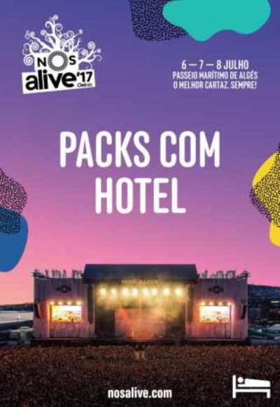 Nos Alive'17 - Packs Hotel