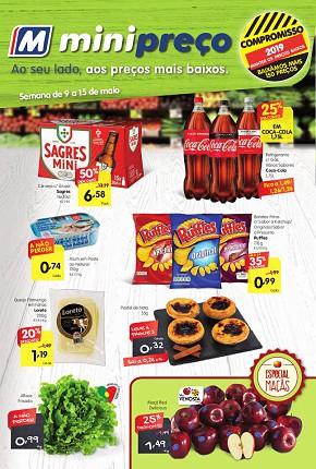 3df0c99b478 Minipreço Market ao seu lado com os melhores preços - Folheto Minipreço de  09 mai 2019