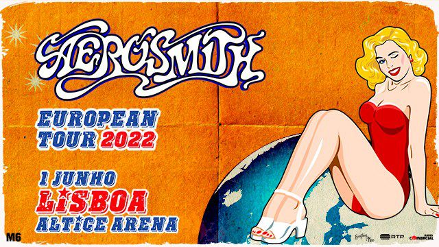 AEROSMITH - EUROPEAN TOUR 2020