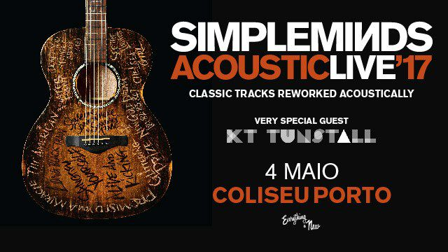 SIMPLE MINDS - ACOUSTIC LIVE'17