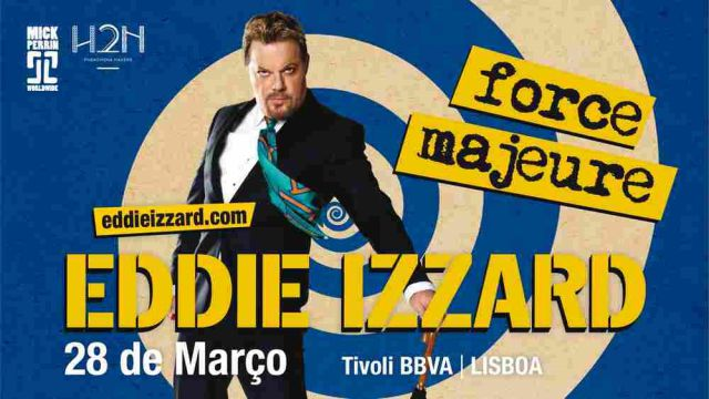 EDDIE IZZARD - FORCE MAJEURE