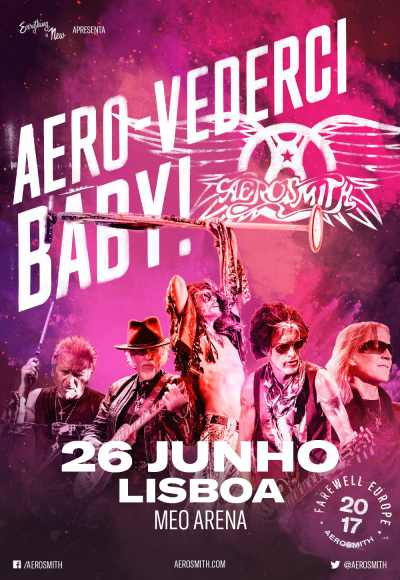 Aerosmith - European Tour 2017