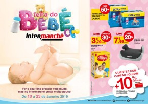 Feira do Bebé Intermarché Super - Folheto Intermarché de 10 jan 2019 a 23 jan 2019