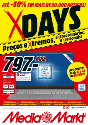 X days - Folheto Media Markt de 17 jan 2019 a 23 jan 2019