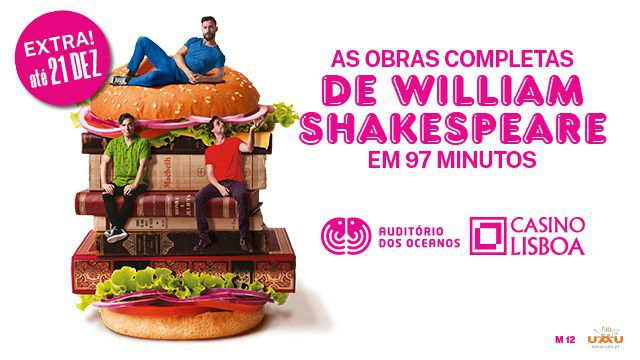 AS OBRAS COMPLETAS DE W. SHAKESPEARE 97 MINUTOS