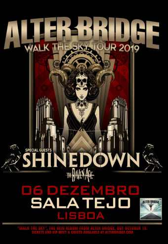 Alter Bridge + Shinedown + The Raven Age