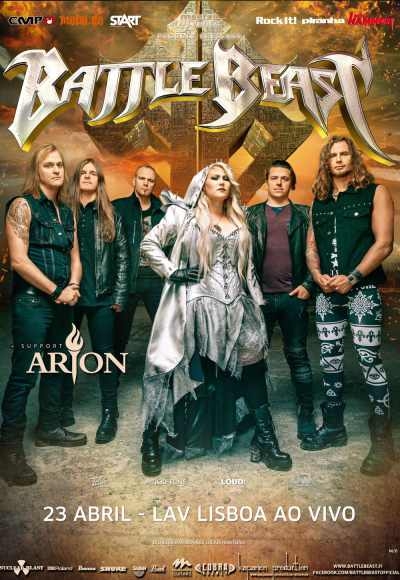 Battle Beast + Arion