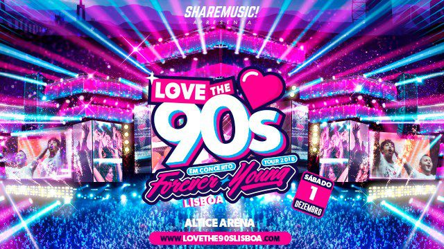 LOVE THE 90'S LISBOA 2018