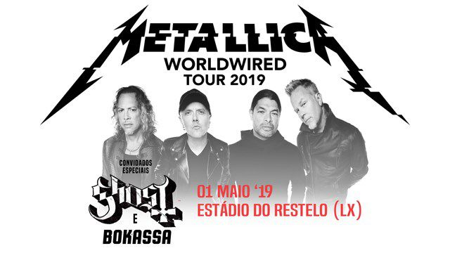 METALLICA WorldWired Tour 2019