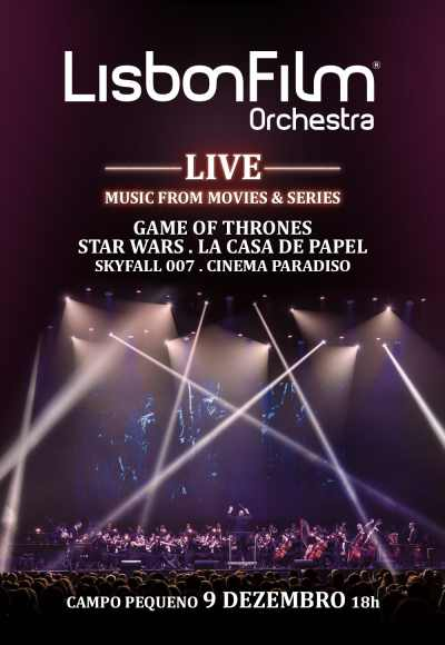 Lisbon Film Orchestra Live|Music From Movies&Serie