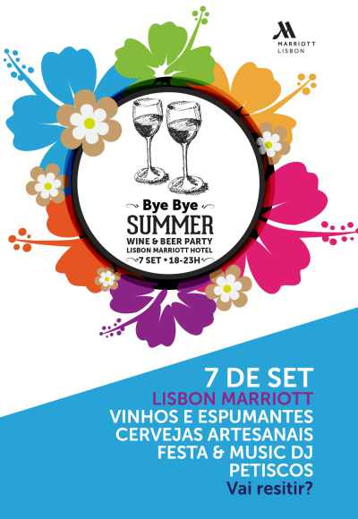 Bye Bye Summer Wine Party