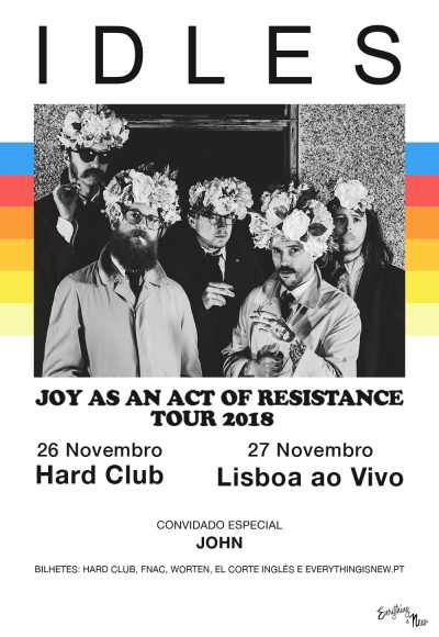 Idles - Joy As An Act Of Resistance