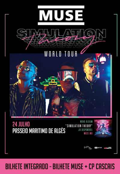 Muse - Simulation Theory Tour + Cp Cascais
