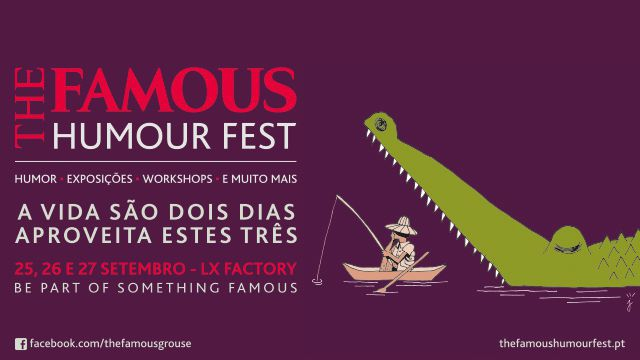 THE FAMOUS HUMOUR FEST - MARATONA DE GRAÇA