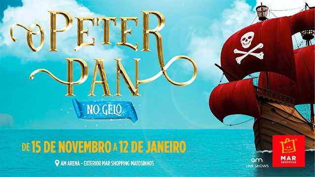 O PETER PAN NO GELO