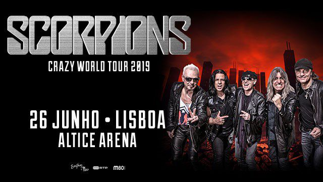 SCORPIONS - CRAZY WORLD TOUR 2019