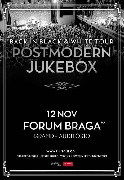 Postmodern Jukebox - Back In Black & White Tour
